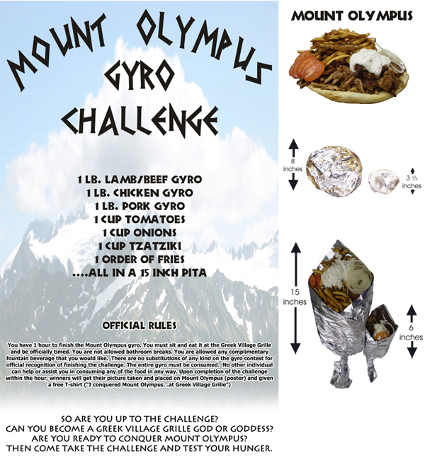 The Mount Olympus Gyro